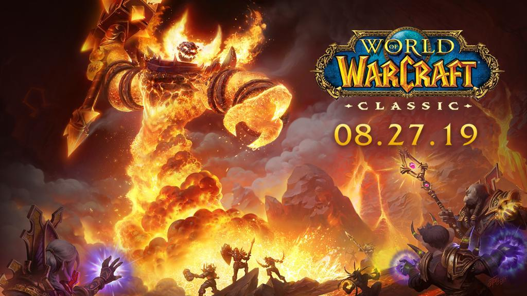 WoW Classic Launch Date