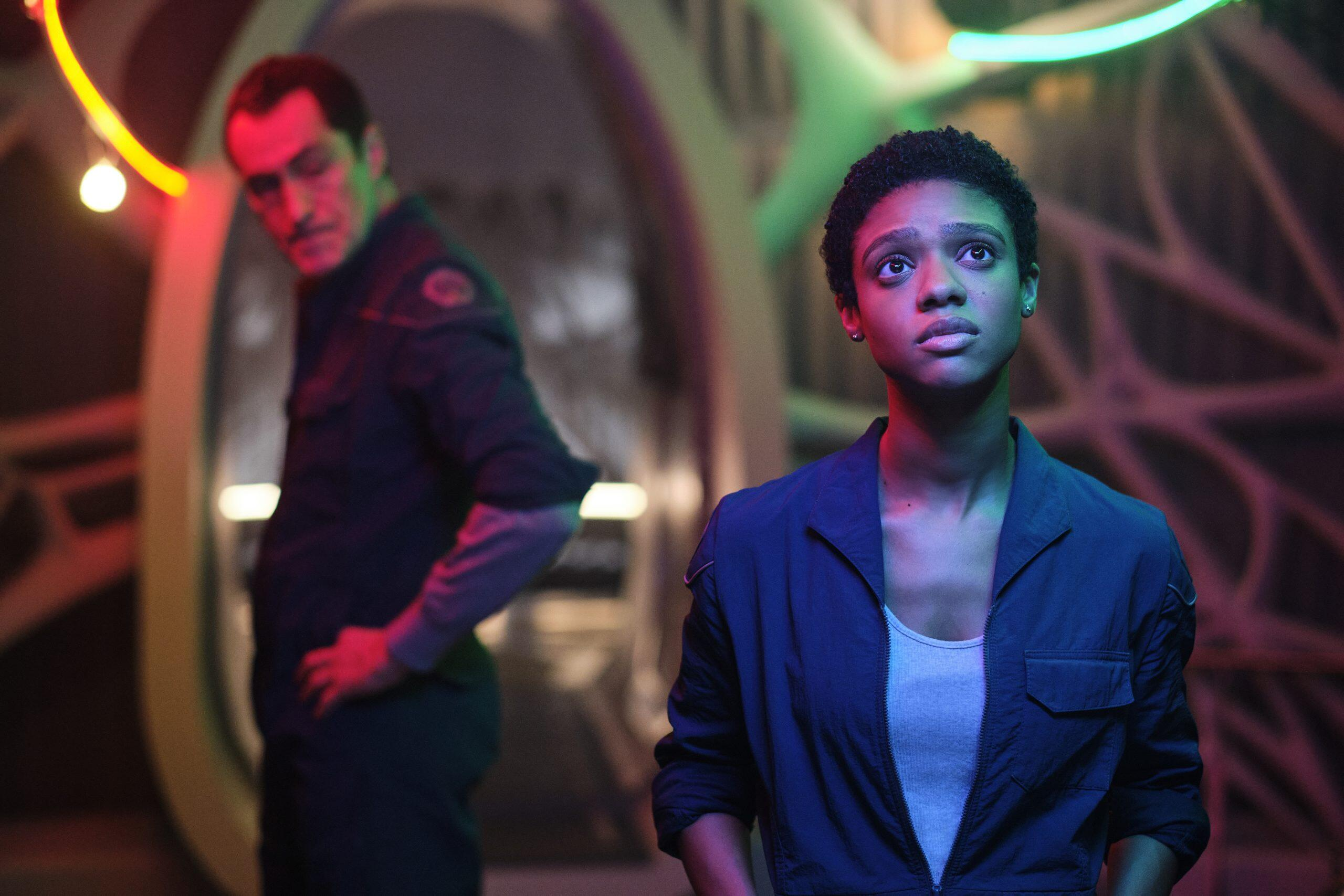 Midnight Sky star Tiffany Boone benefited from George Clooney's space film  expertise - CNET