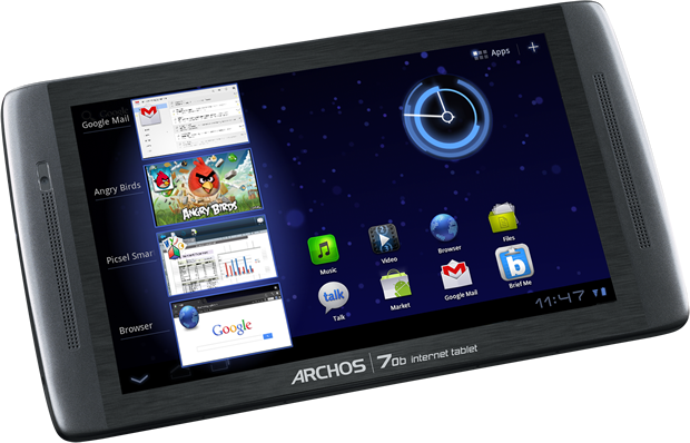 The new Archos 7-inch tablet will sell for $199.