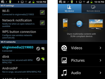How to stream media from your Samsung Galaxy S2 to your PS3: step 1