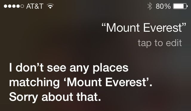 Siri still manages to bungle certain searches if you don't prefix them properly.