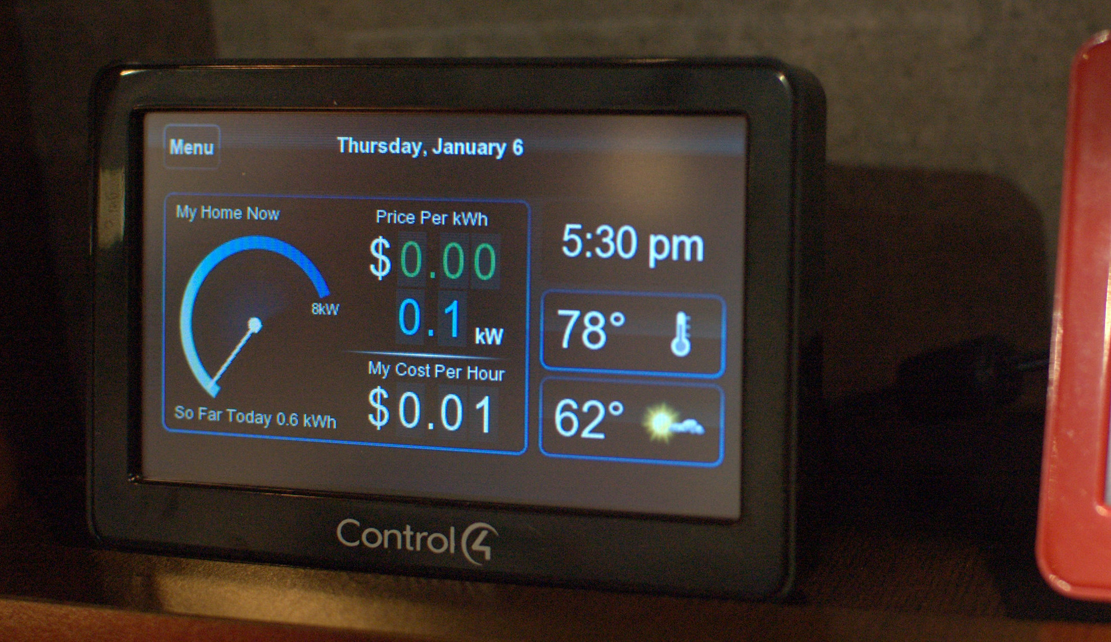Control4's Energy Management System (EMS) 100 will be used by Cisco in smart-grid deals.