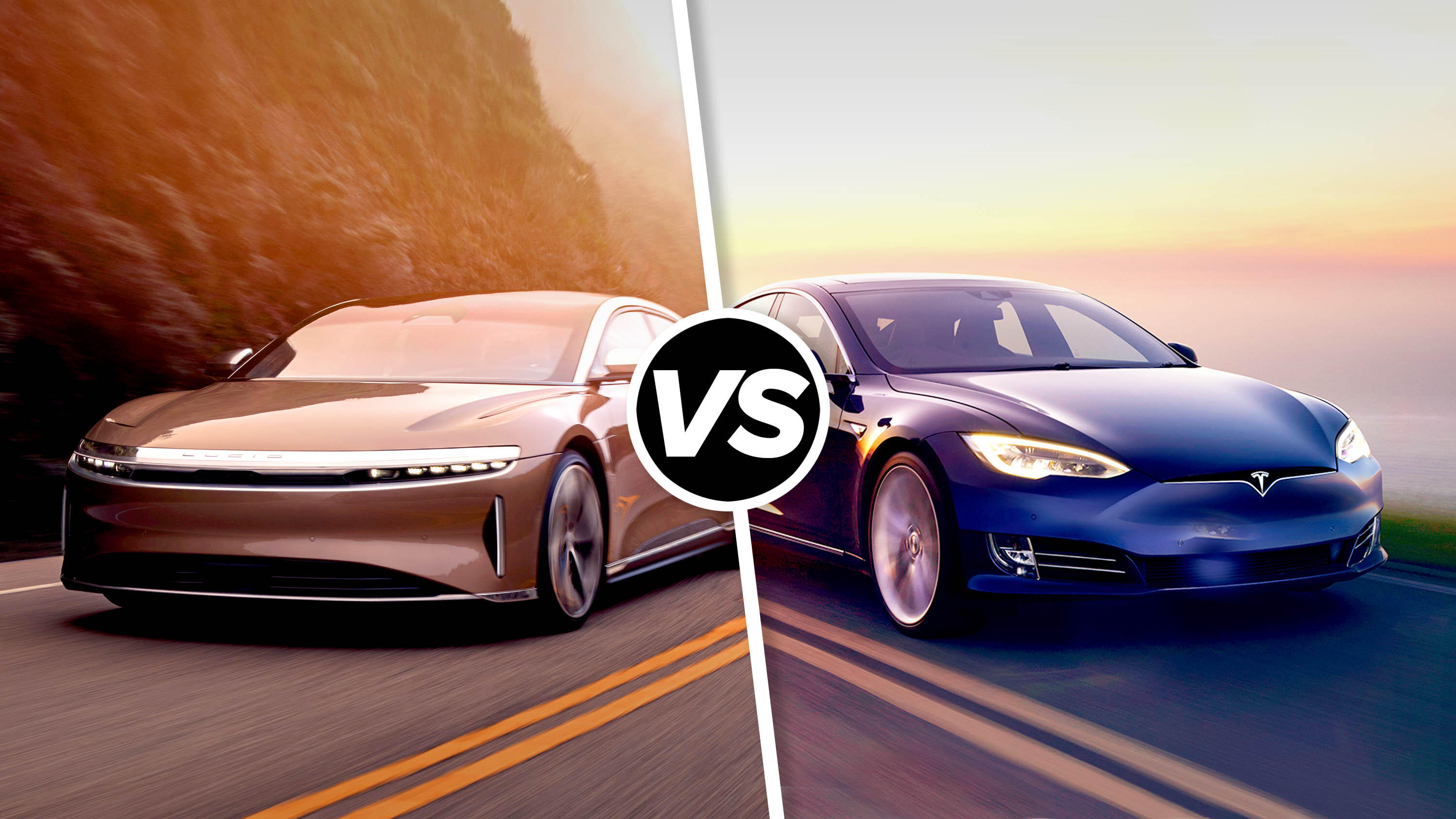 Video: 2021 Lucid Air vs. Tesla Model S: EVs go head-to-head