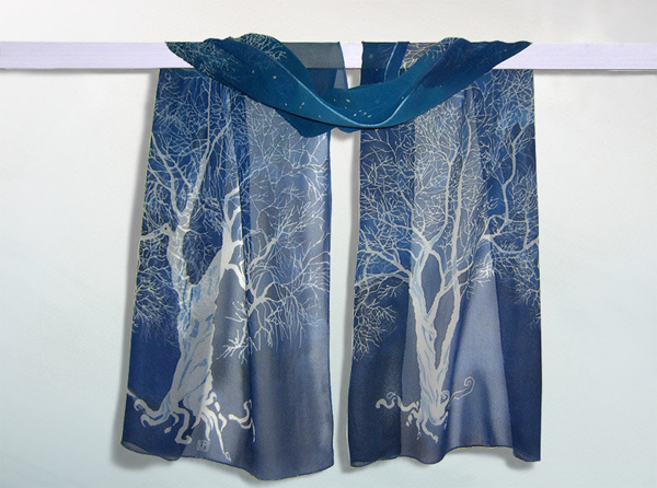 White Tree of Gondor silk scarf