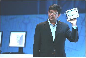 Anand Chandrasekher, who had headed up Intel's push into smartphones and tablets.