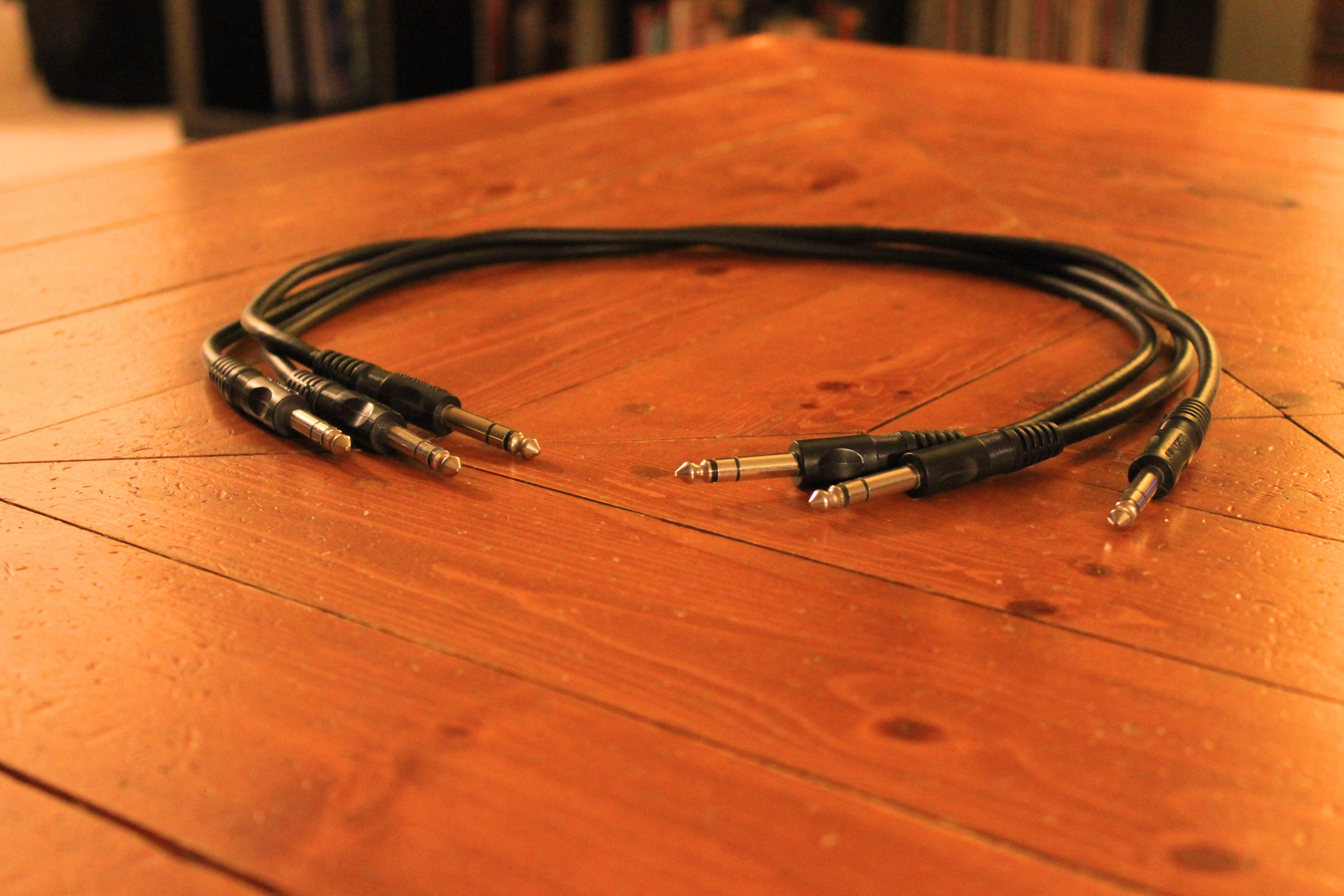 1/4-inch patch cables