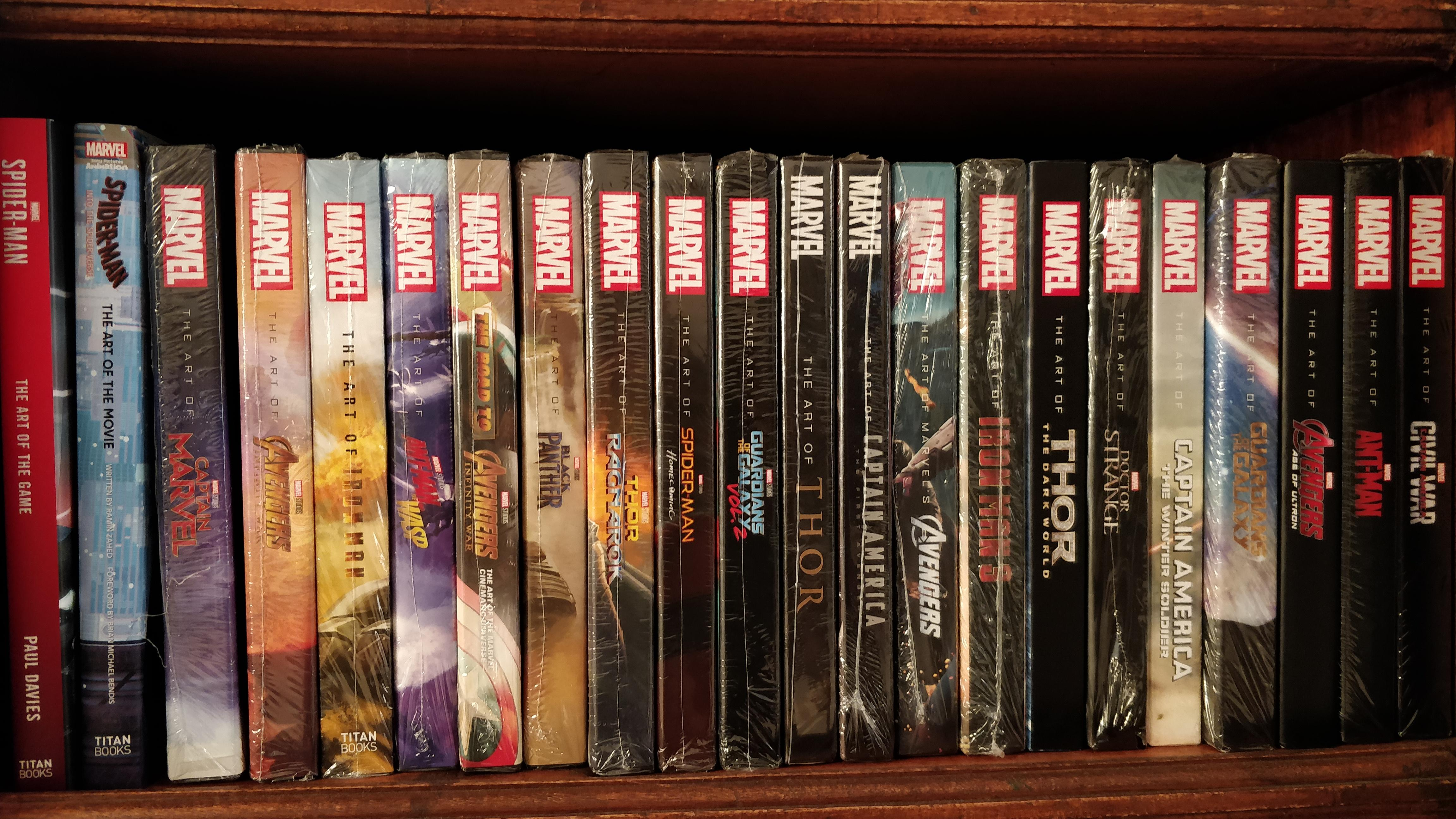 The Art of Marvel books are my obsession!