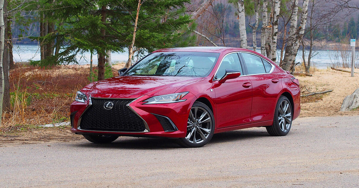 2021 Lexus ES 250 review: Super cruiser     - Roadshow