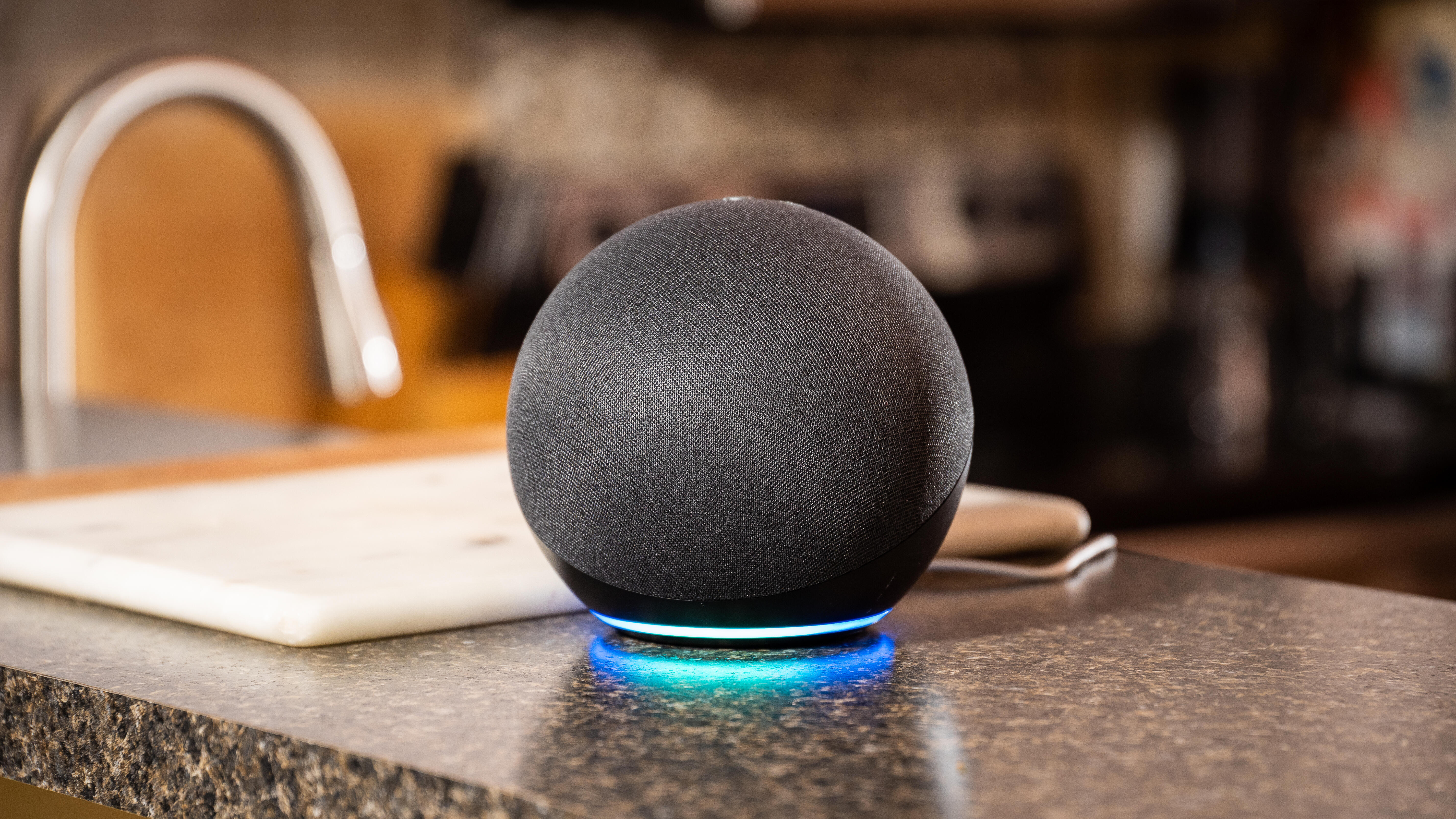 Video: Amazon's spherical smart speaker offers entertainment in the round