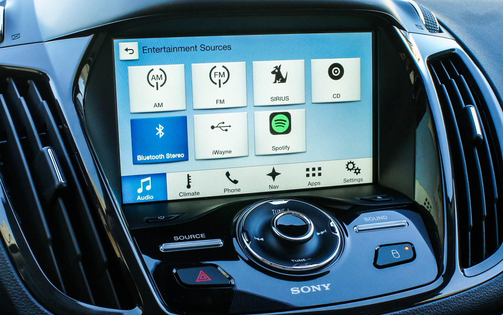 2016 Ford Escape Sync 3