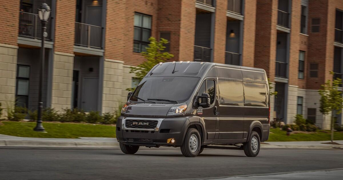 Ram debuts 2022 Promaster vans with more tech, more safety features     – Roadshow