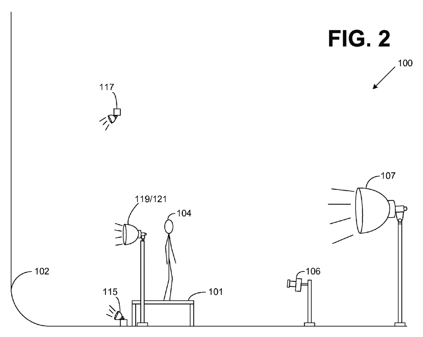 Amazon won a patent for a particular arrangement of photography equipment that isolates the subject in front of a white background.