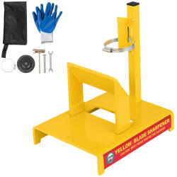 Vevor Lawn Mower Blade Sharpener Stand for $64.99 + free shipping w/code DN01