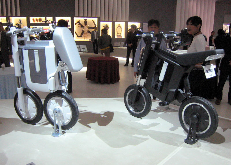 Bobby, Yamaha's electric scooter