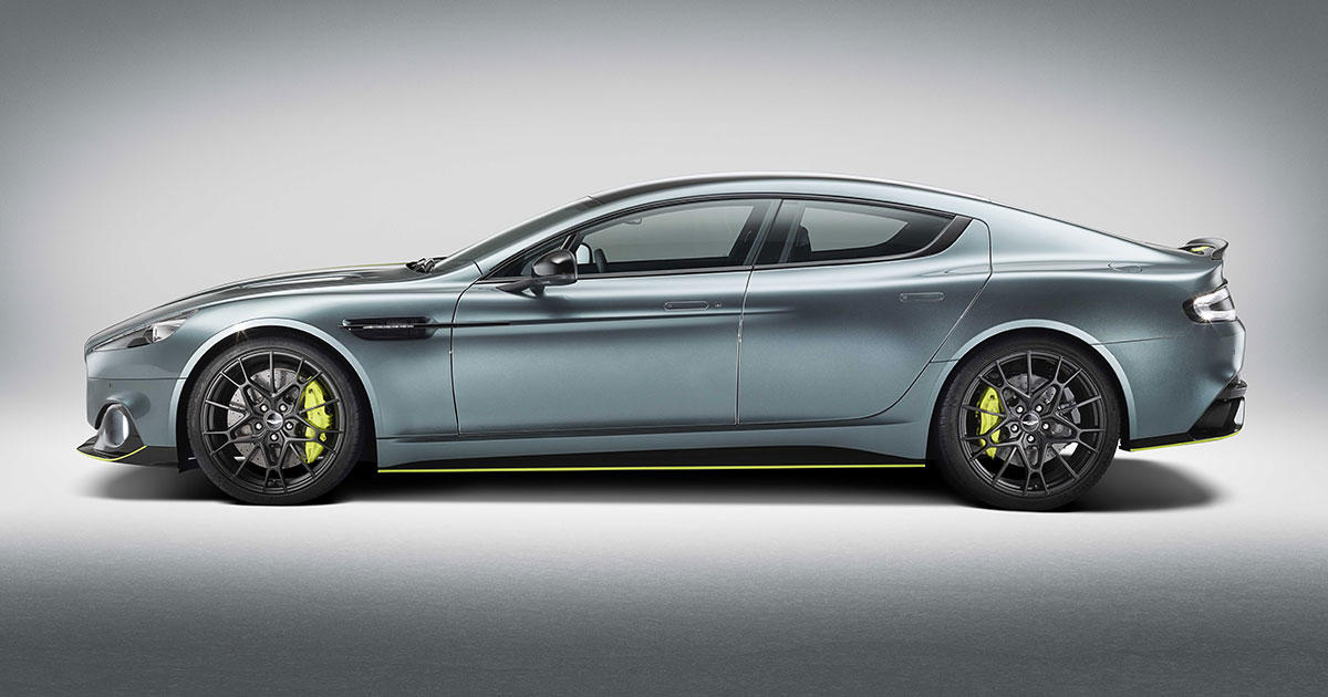 The Aston Martin Rapide Amr Costs 240 000 Only 210 Will Be Made Roadshow