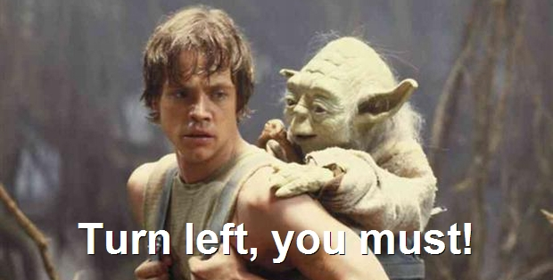 TomTom users can now choose the voice of  Master Yoda for their turn-by-turn directions.