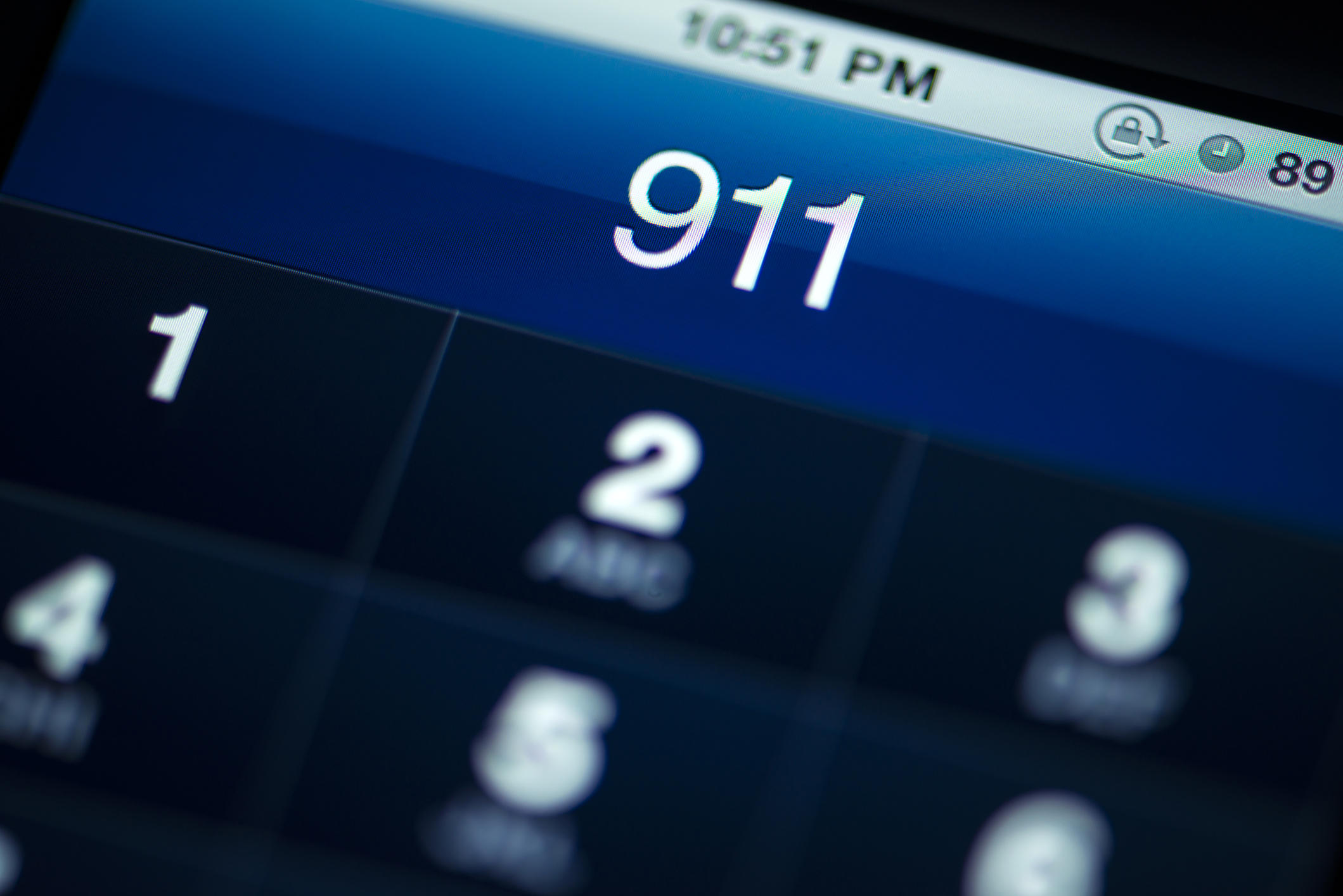 Smartphone Call to 911