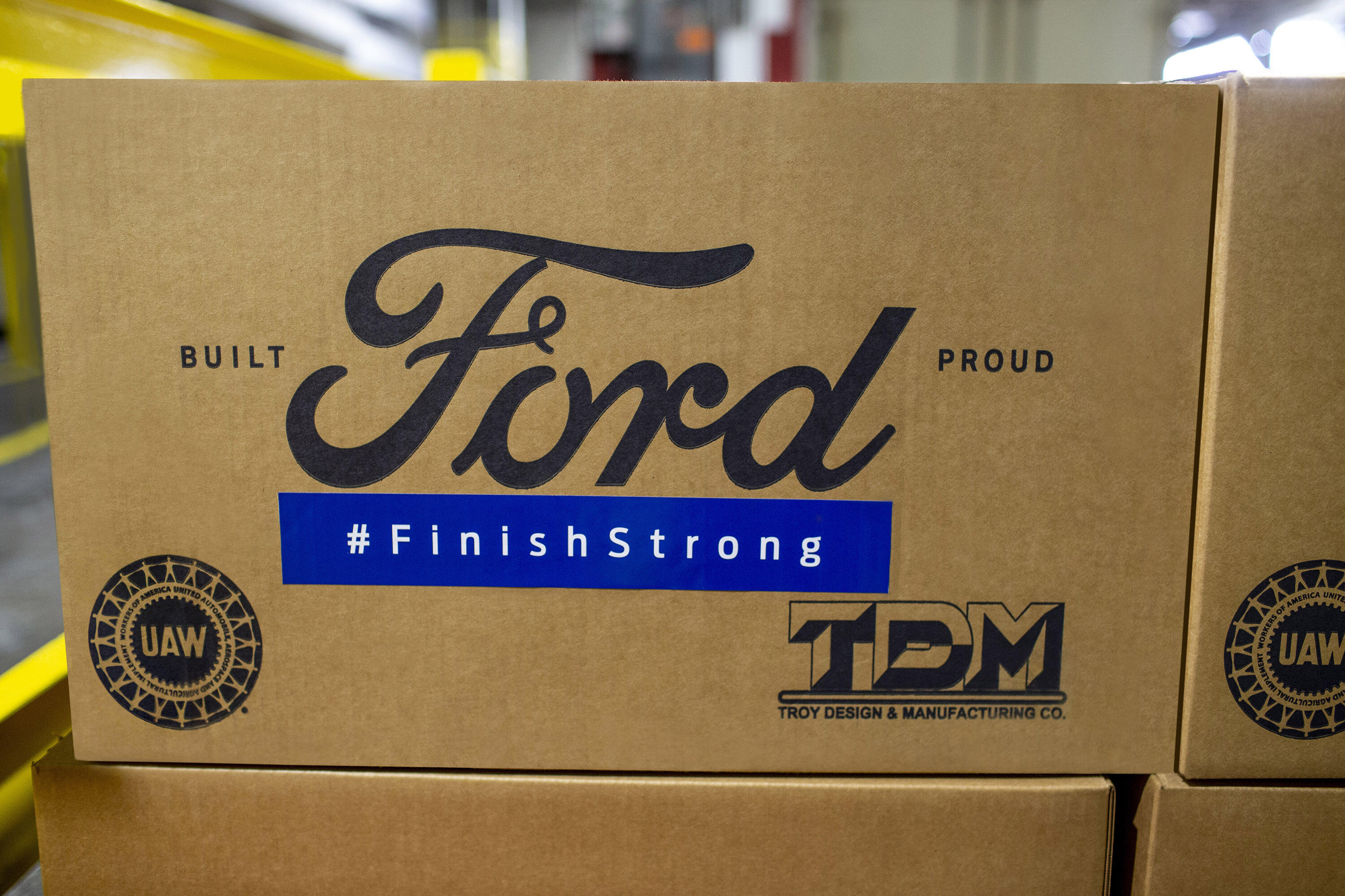 Ford Finish Strong