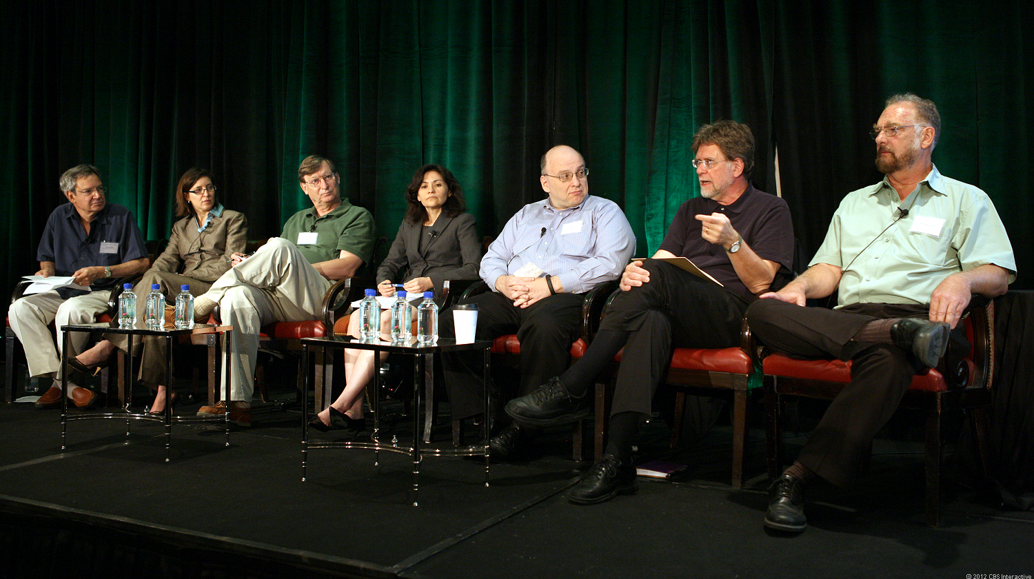 """Former FTC chairman William Kovacic, second from right, says government litigators get """"extra credit for big cases."""""""