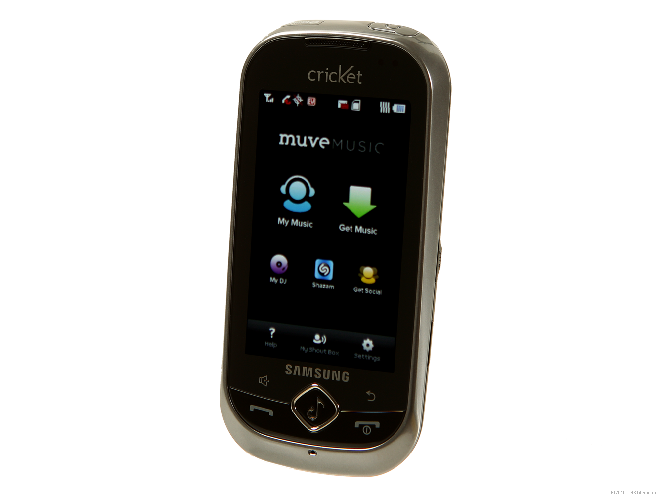Samsung Suede with Muve Music