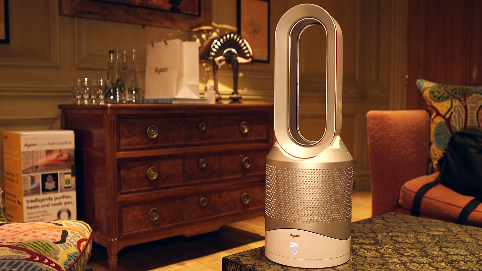 Video: Dyson bundles a fan, heater and air purifier into one, for $600