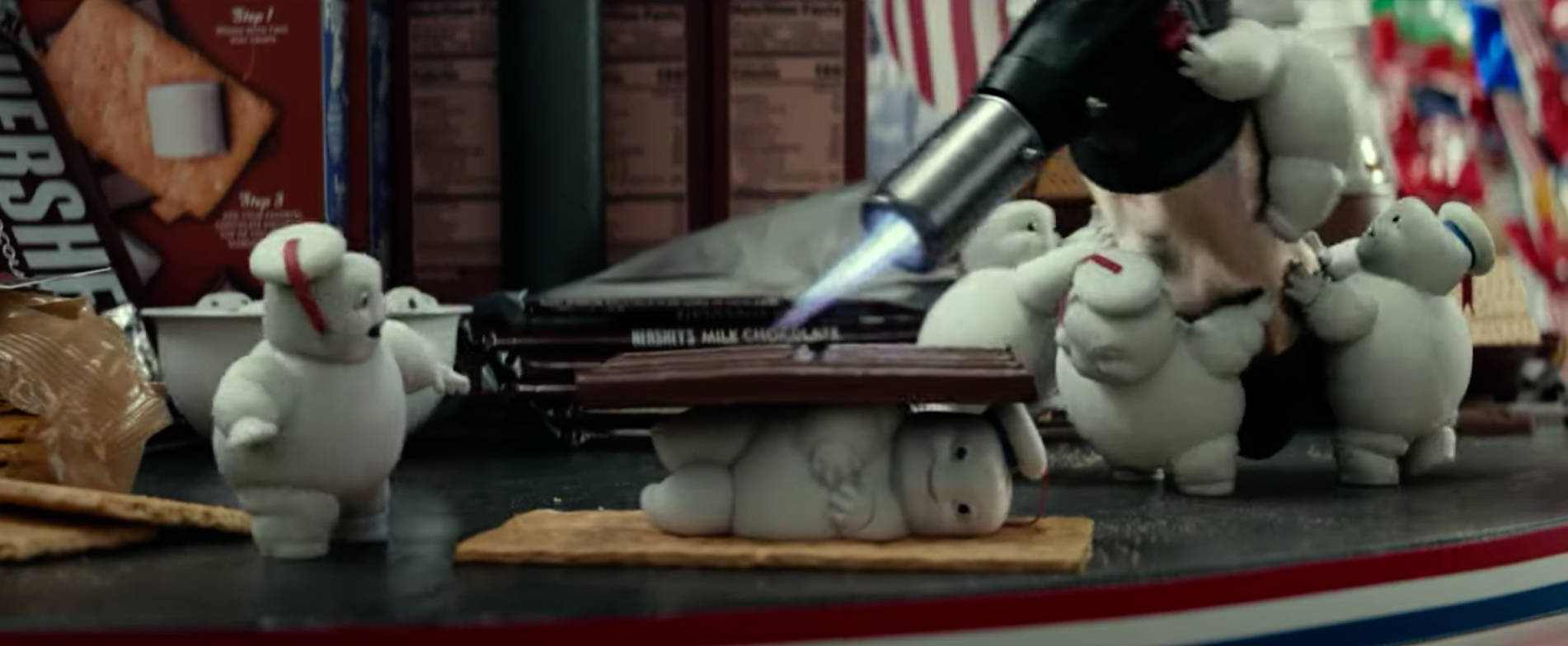 Stay Puft Marshmallow Men in Ghostbusters: Afterlife