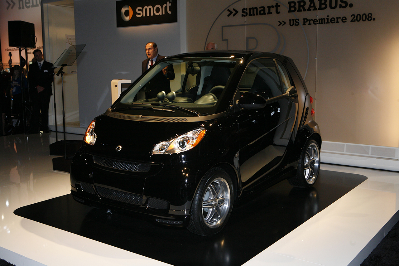 Smart fortwo Brabus front