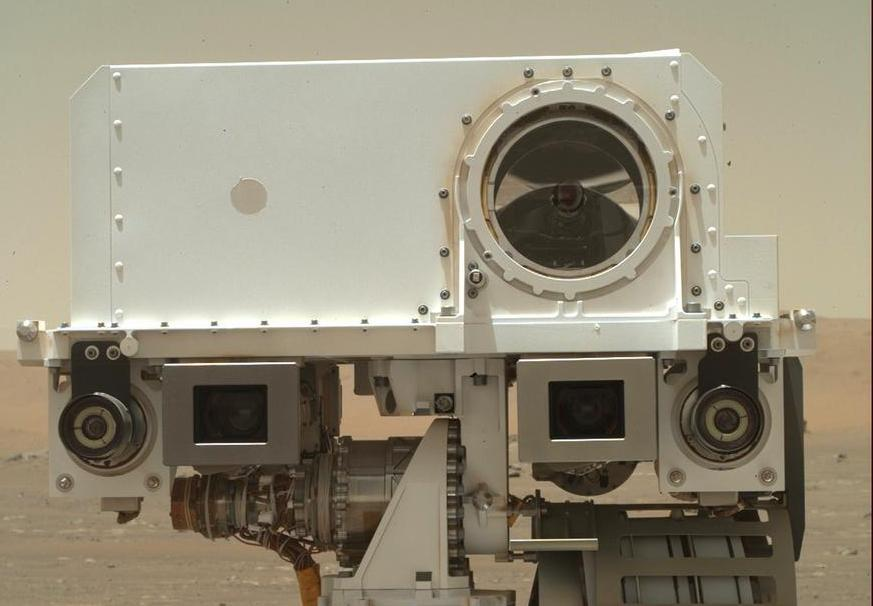 An instrument on the Perseverance Mars rover.