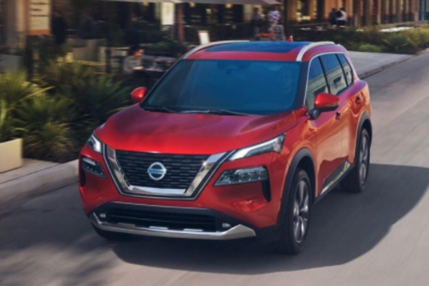 2021 Nissan Rogue leaked image