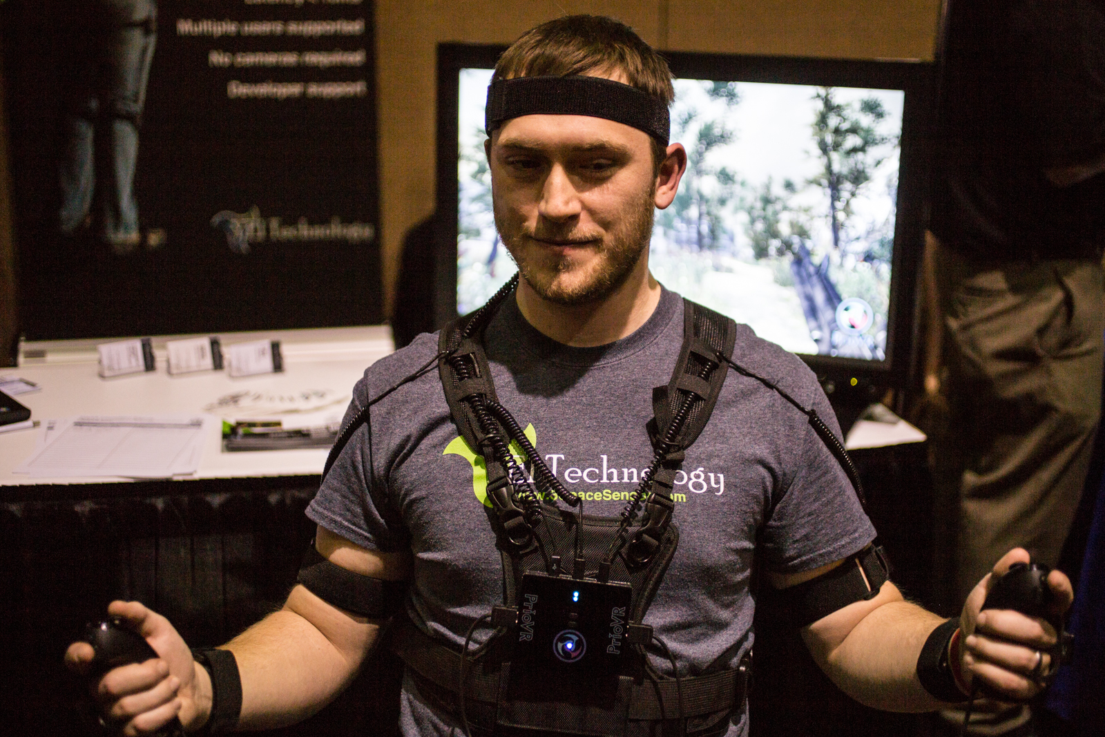 PrioVR tracking suit