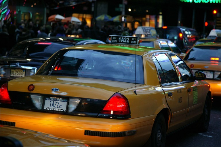 You can skip the cab and hire a black sedan with Uber.com -- as long as the government doesn't get in the way.