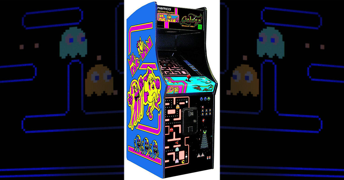 This $3,065 full-size arcade cabinet