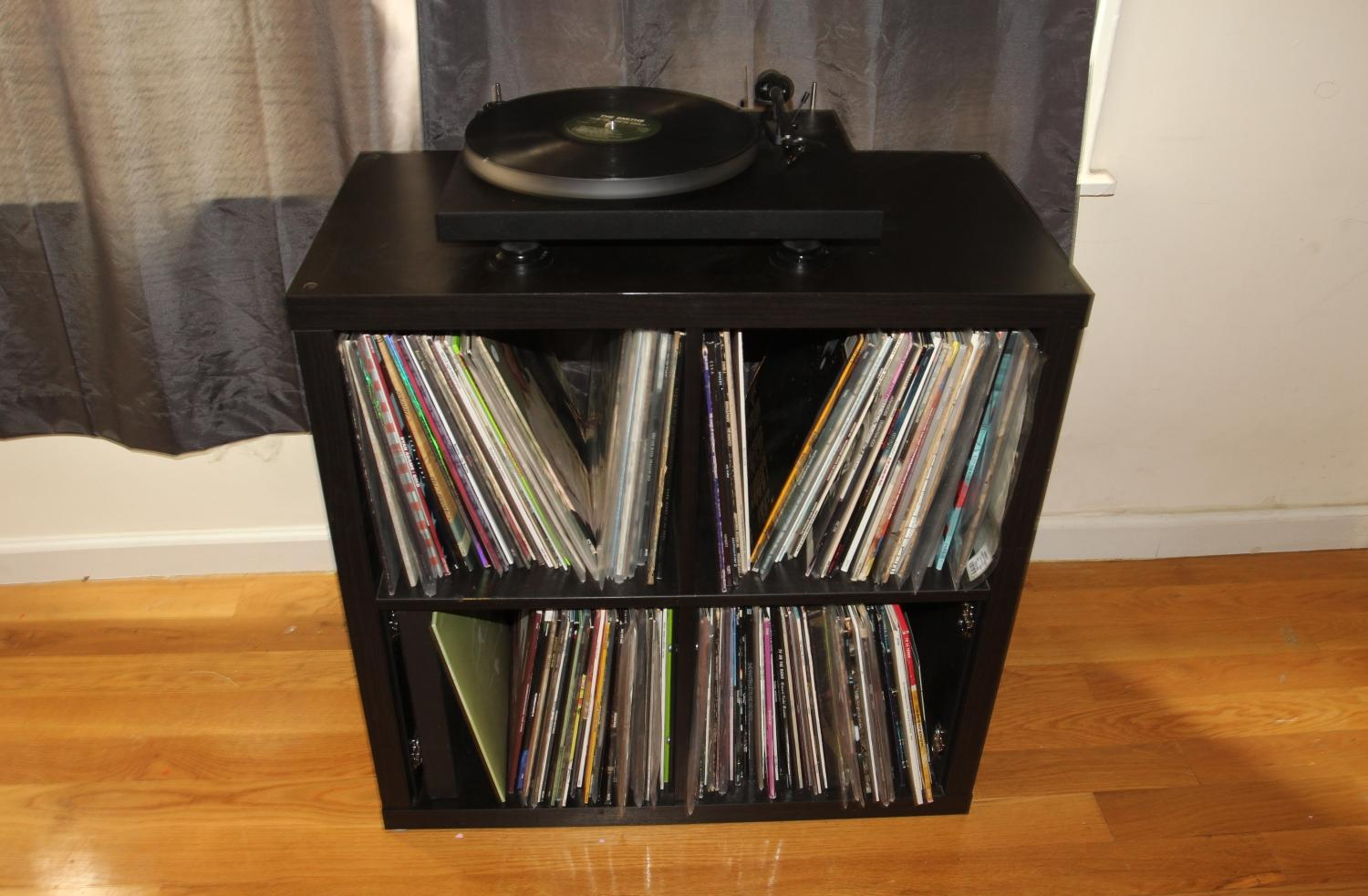 Get those records off the floor