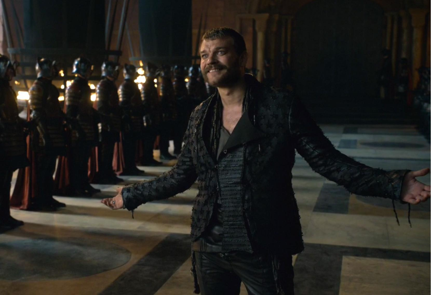 Euron Greyjoy gets what's coming to him