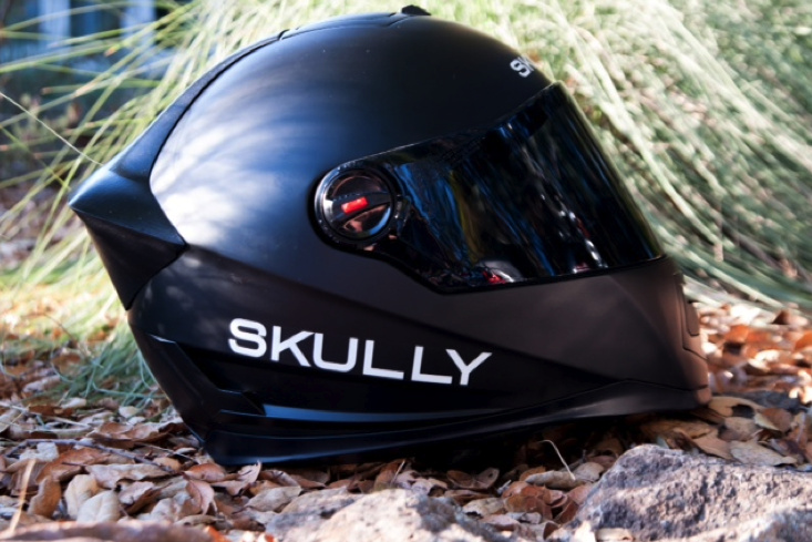 Skully P1 motorcycle helmet