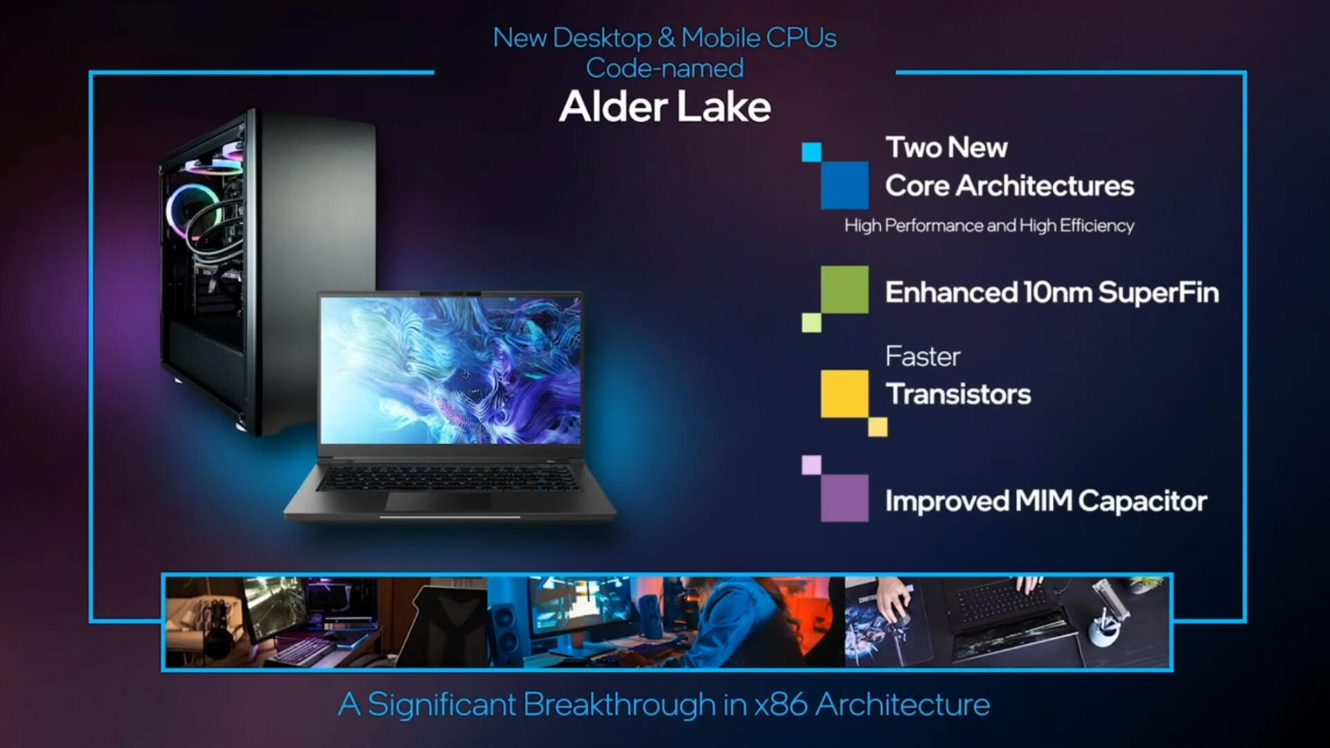 Video: Project Alder Lake: Intel teases its new high-end, ultra-thin gaming processor