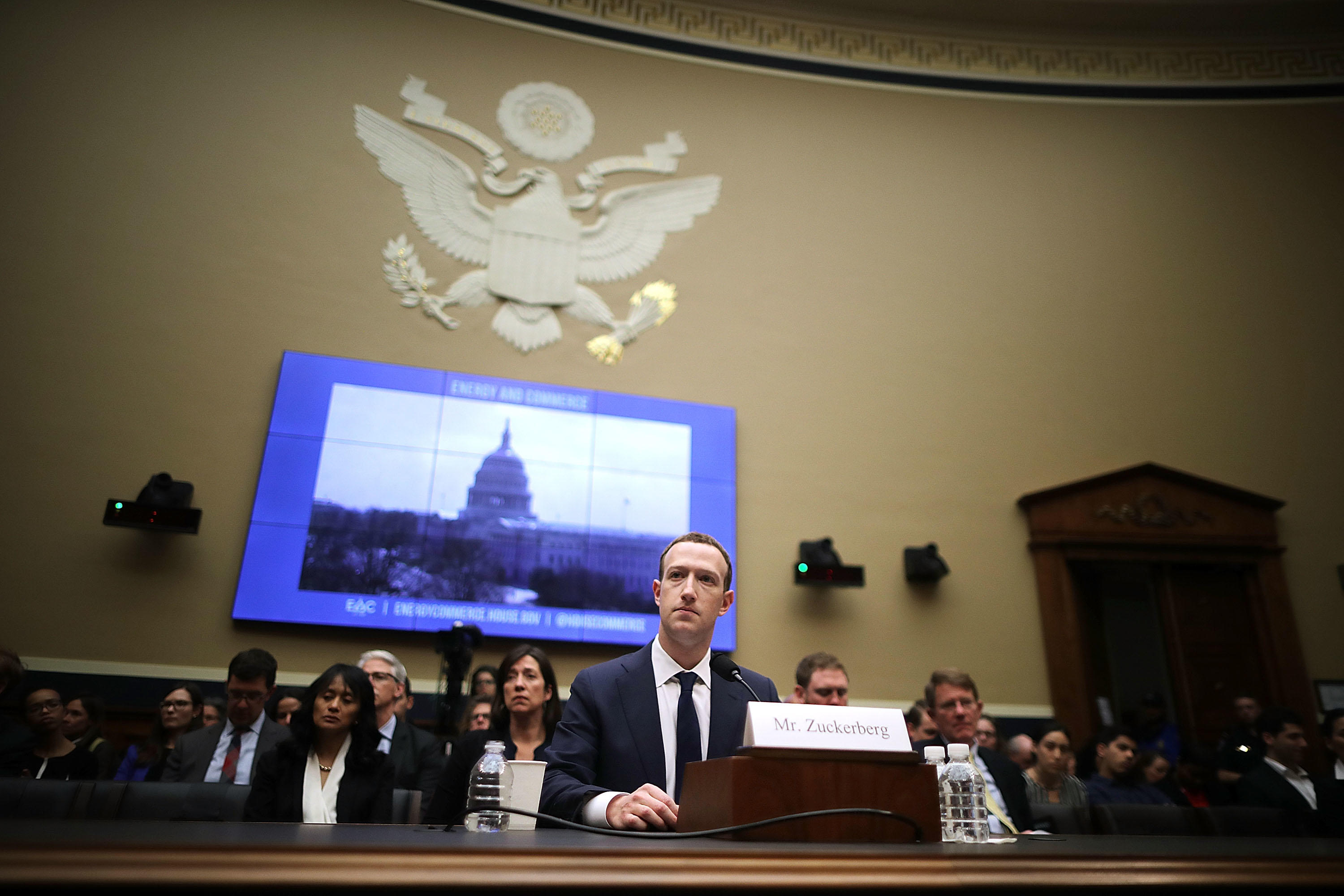 The #Zucktimony on Capitol Hill