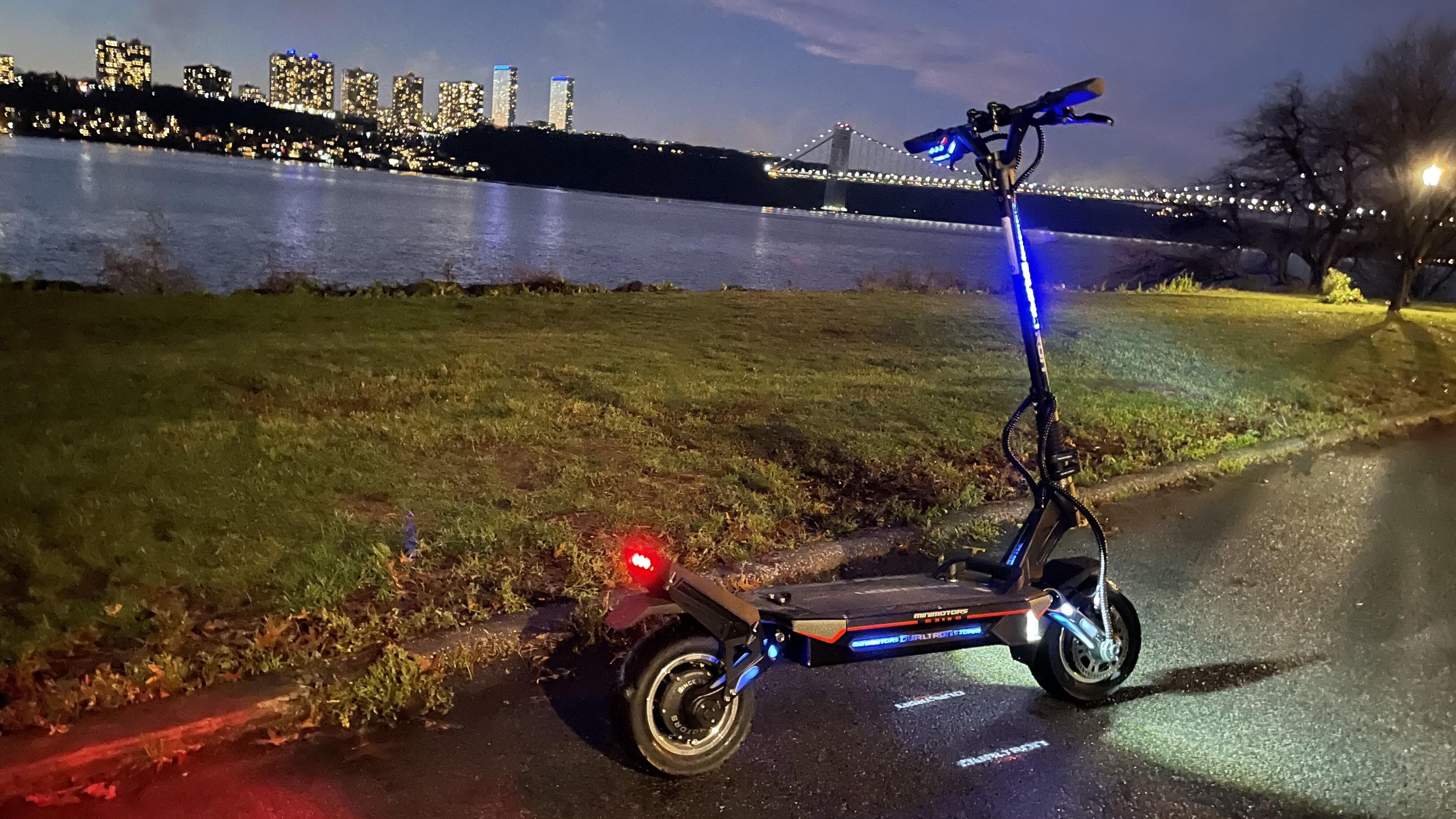 night shot of storm | Best electric scooter for summer 2021 - Roadshow | The Paradise
