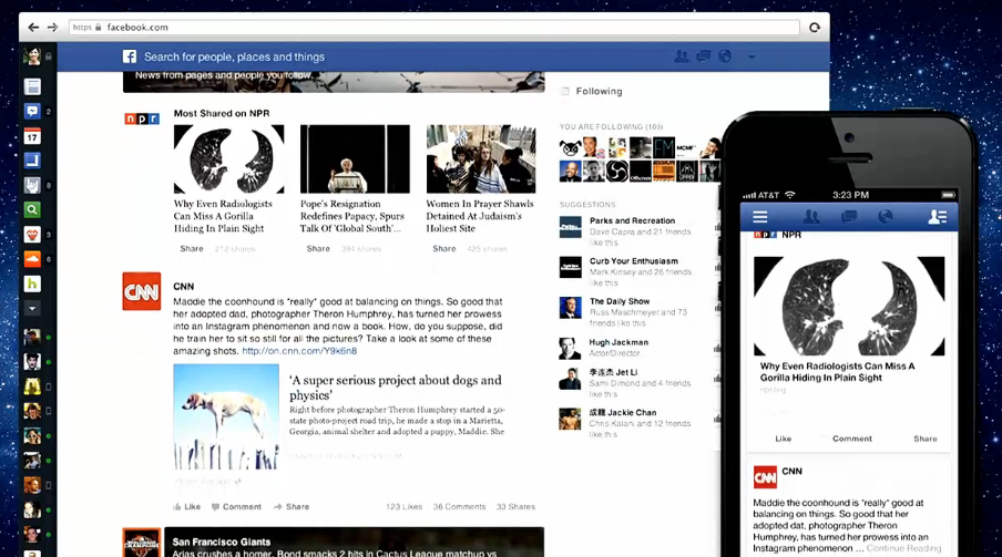 New look for 'most shared' story clusters