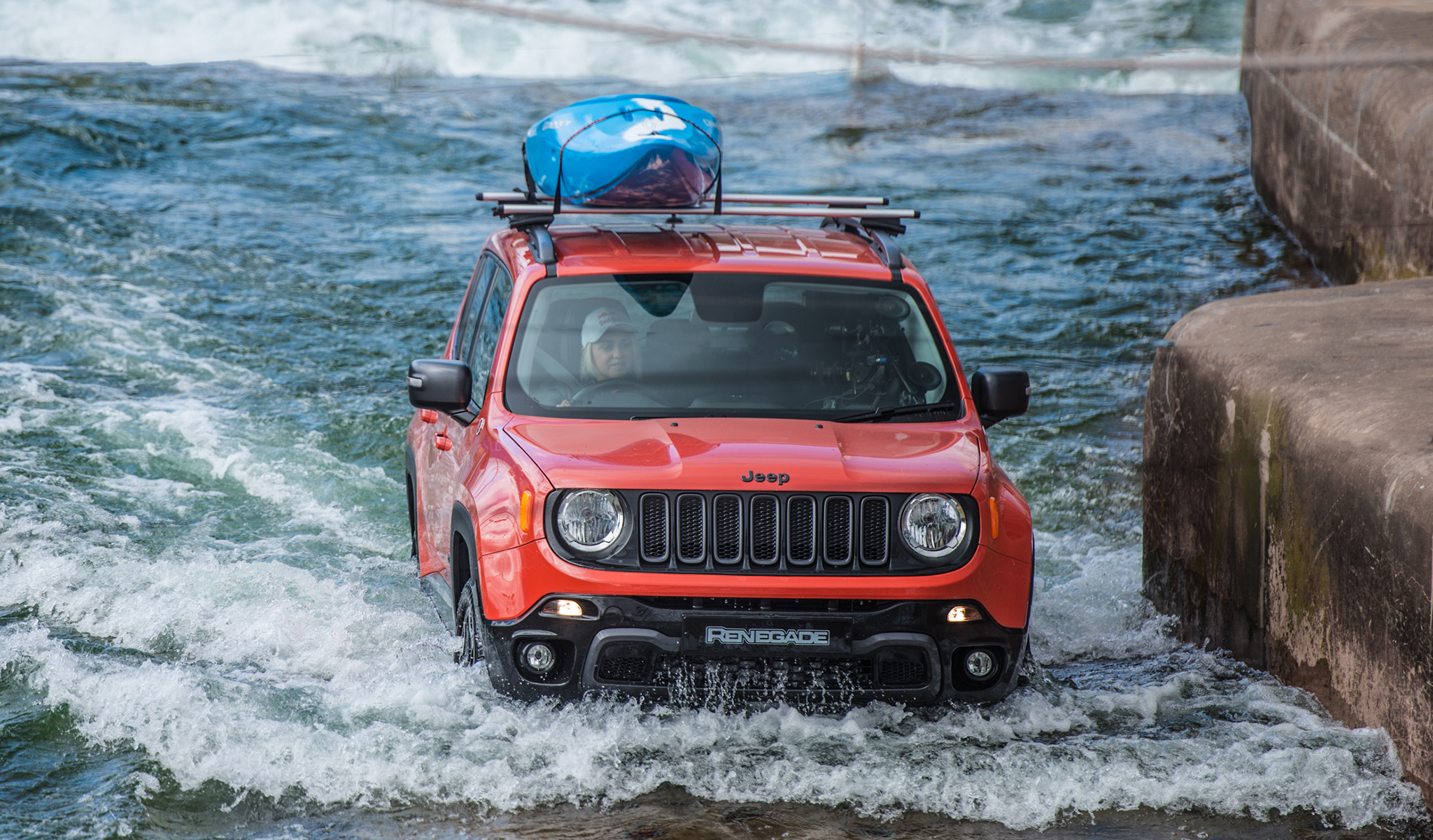 Jeep White Water Rafting