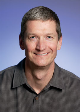 Apple's new CEO Tim Cook is a supply-chain pro.