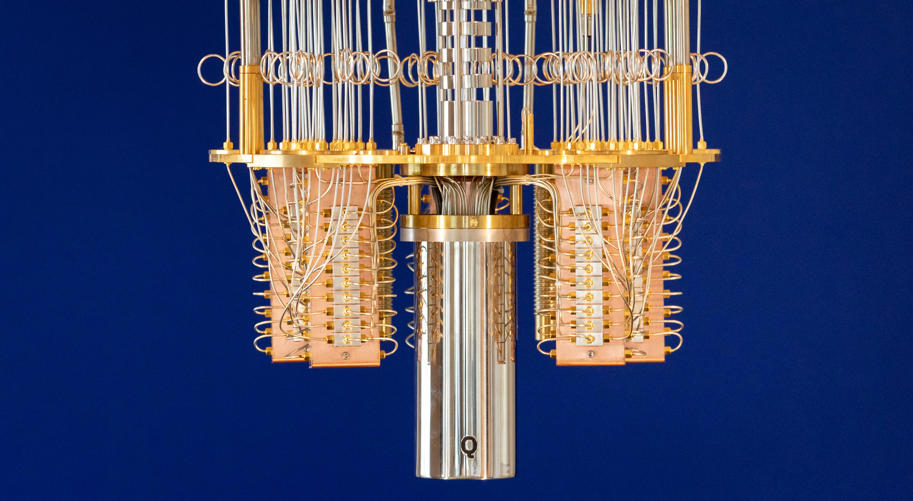 The IBM Q quantum computer looks nothing like a classical computer.