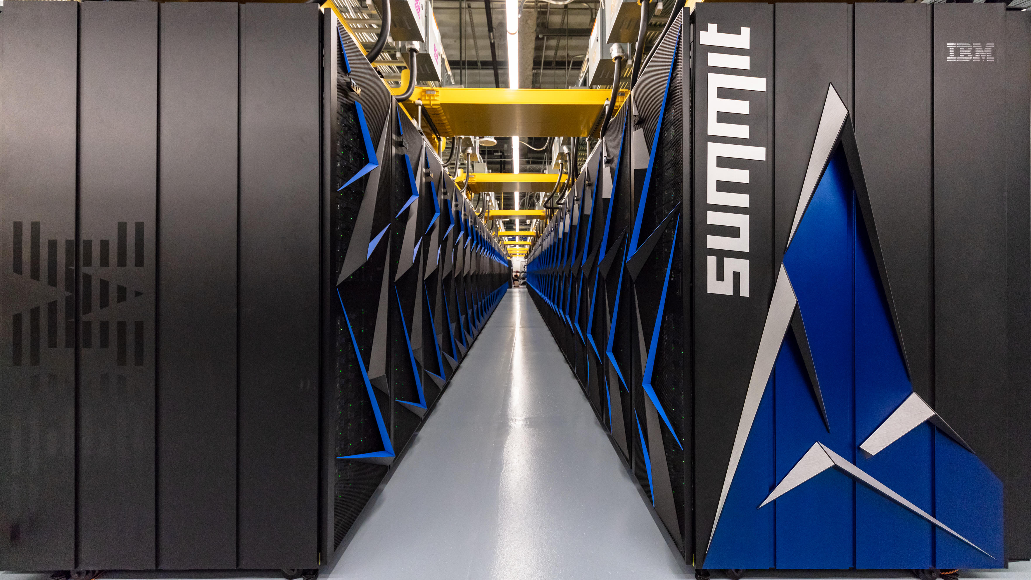 IBM's Summit supercomputer at Oak Ridge National Laboratory has been used to search for medicine to fight COVID-19.