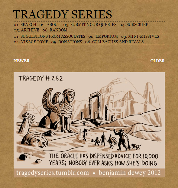 Tragedy Series #252: The Oracle