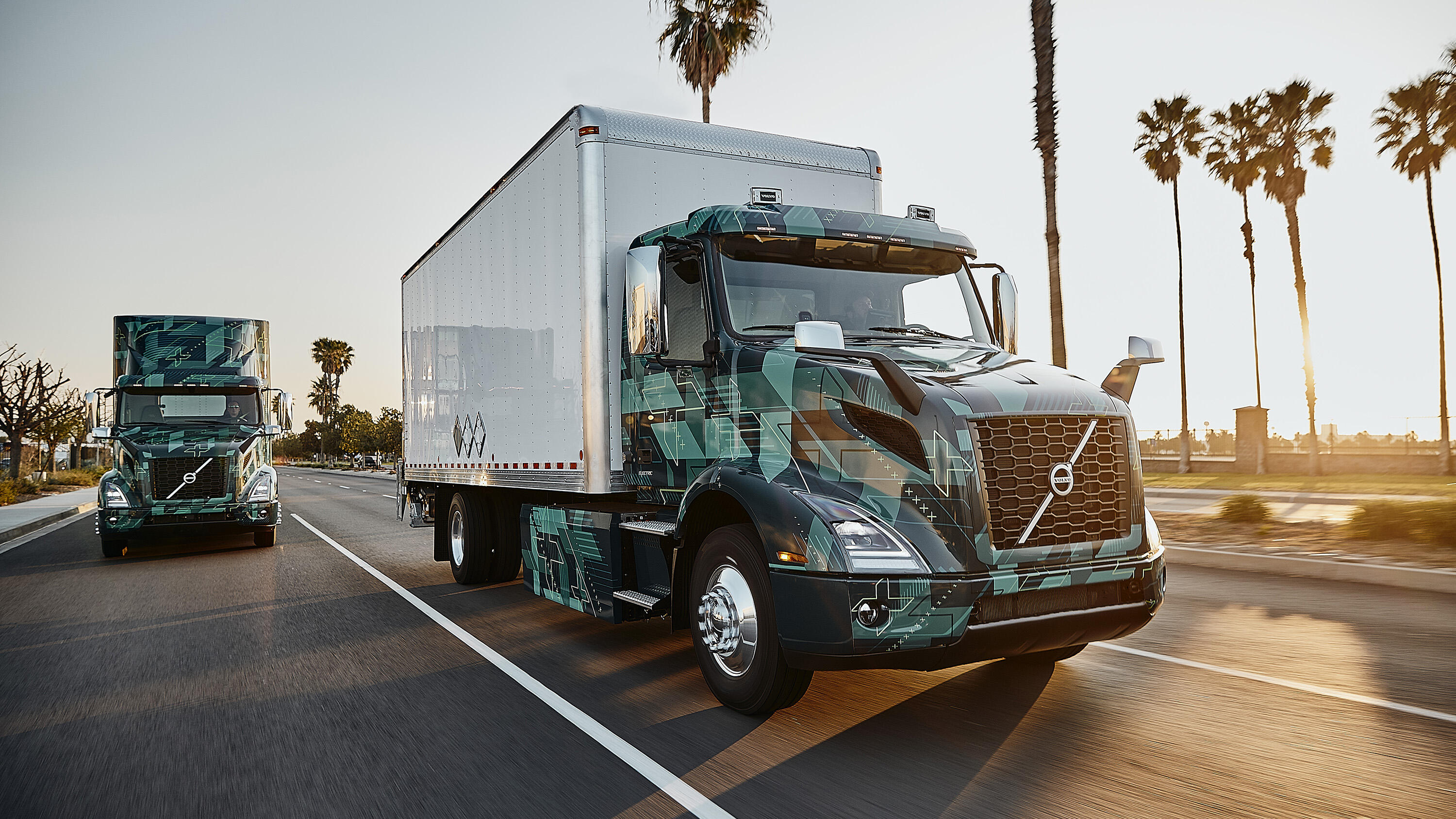 Volvo VNR Electric semi truck