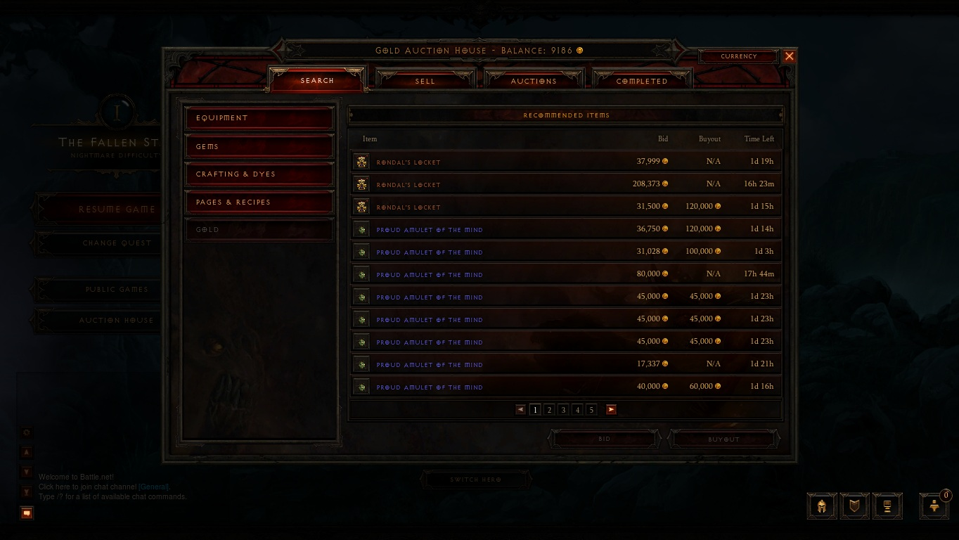The Diablo III Auction House offers gamers, and Blizzard, a source of real world income.