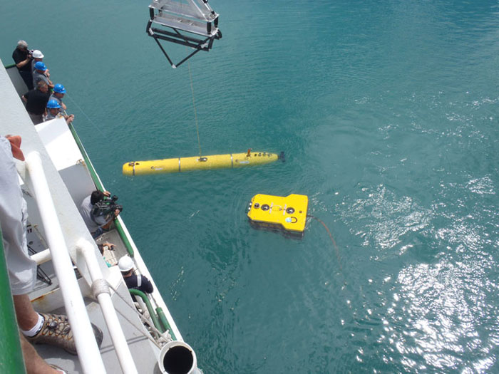 AUV and ROV search tools