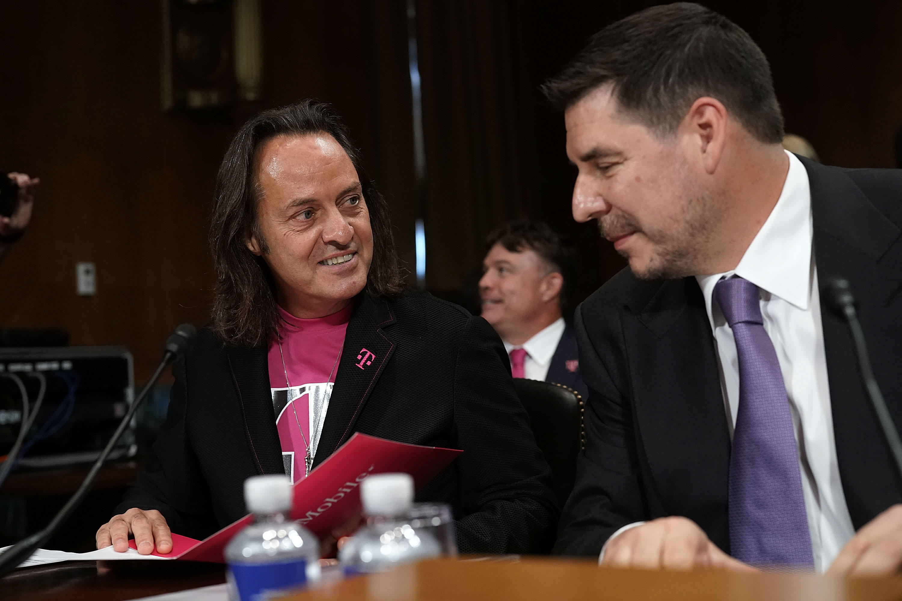 CEOs Of Sprint And T-Mobile