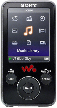 Photo of NWZ-E438 Sony Walkman MP3 player