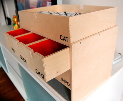 DIY cat-friendly charging station